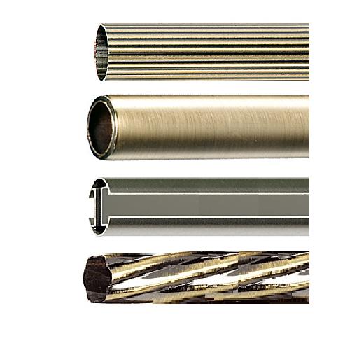 Трубы для металлических карнизов