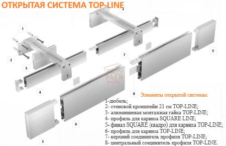 КАРНИЗ TOP-LINE